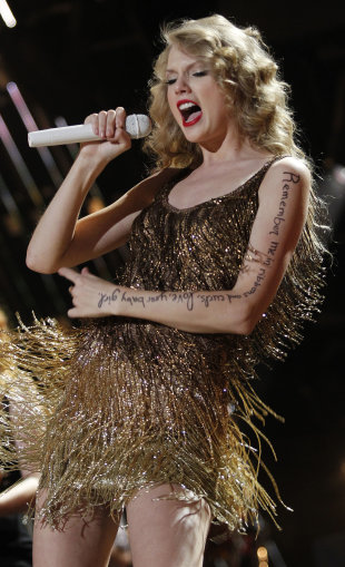 Taylor Swift (AP Photo/Wade Payne)