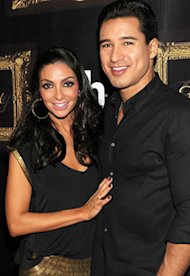 Courtney Mazza and Mario Lopez | Photo Credits: Denise Truscello/WireImage.com