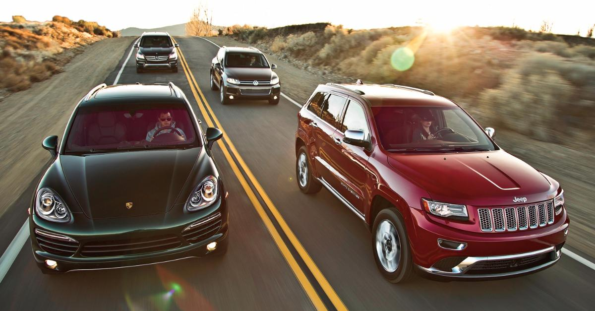 The Best of 2015's Luxury SUVs