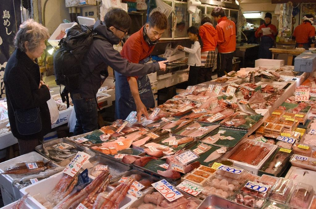 Japan consumer prices down for second month in April