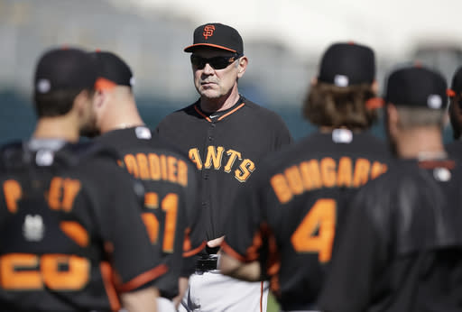 Giants reliever Strickland insists he's tranquil on mound