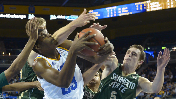 No. 22 UCLA rolls past Sacramento State 86-50