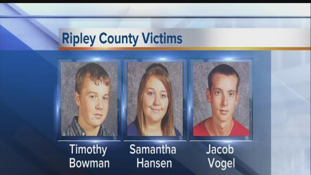 Ripley County mourns loss of 3 teens