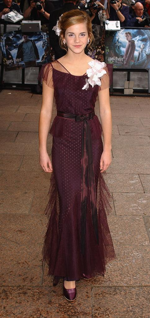 Emma Watson Red Carpet Evolution Gallery 2011
