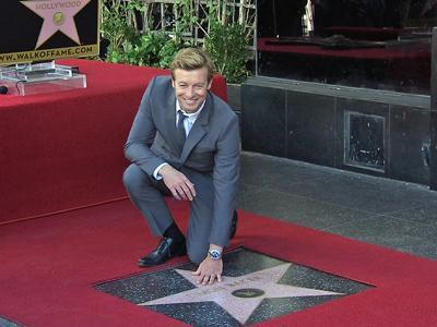 Simon Baker Is Emotional Getting His Star