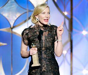 "Cate Blanchett Was ""A Couple of Sheets to the Wind"" at 2014 Golden Globes: ""I Can't Remember a Lot"""