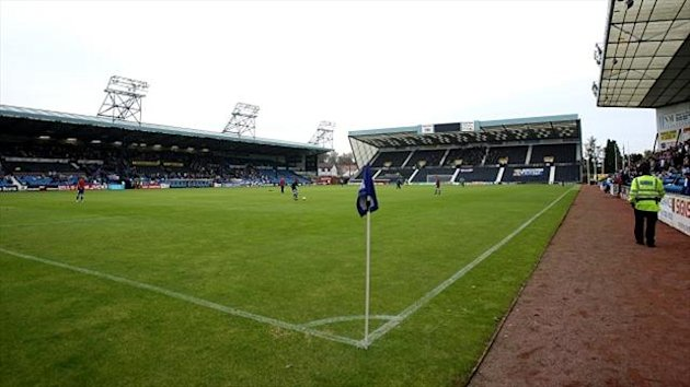 Kilmarnock's clash with Hibernian at Rugby Park was abandoned