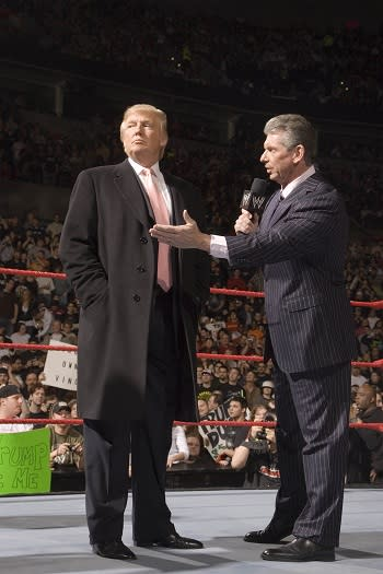 Donald Trump Goes Brawls-Out With WWE Hall of Fame Induction