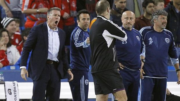 Sporting Kansas City manager Peter Vermes points finger at his own team for Toronto loss