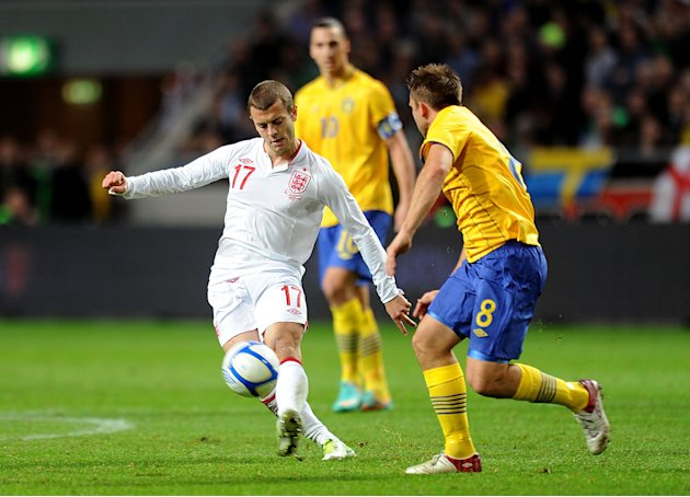 Jack Wilshere, left, has cited England captain Steven Gerrard as a role model