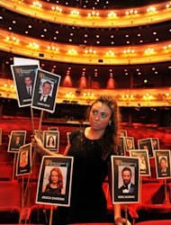 Jessica Chastian and Hugh Jackman are due to attend the Baftas at the Royal Opera house