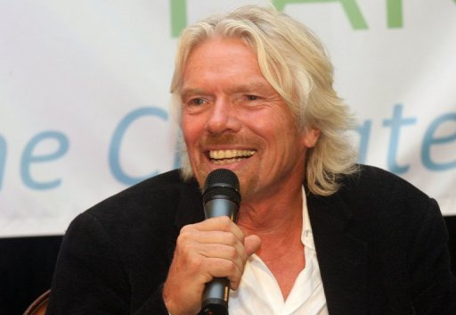<p>English business magnate Richard Branson, pictured in June 2012. Branson's Virgin Rail Group on Monday succeeded in holding up a deal that threatens to strip it of its British rail franchise.</p>
