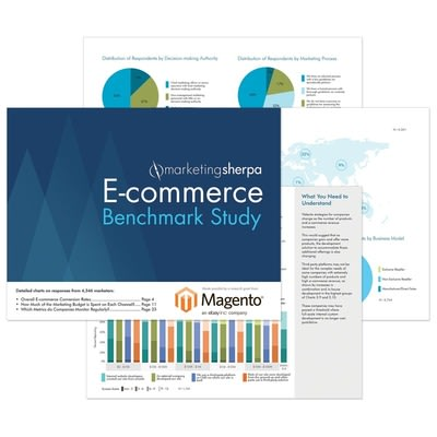 MarketingSherpa's E-commerce Benchmark Study provides marketers the most up-to-date context to compare their e-commerce execution against their peers....
