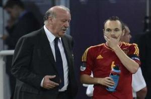 Del Bosque: Haiti game a good tune-up match for Spain