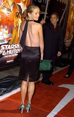 Christine Taylor and Ben Stiller at the LA premiere of Warner Bros.' Starsky & Hutch