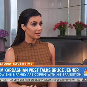 Kim Kardashian Speaks On Bruce Jenner's Transition