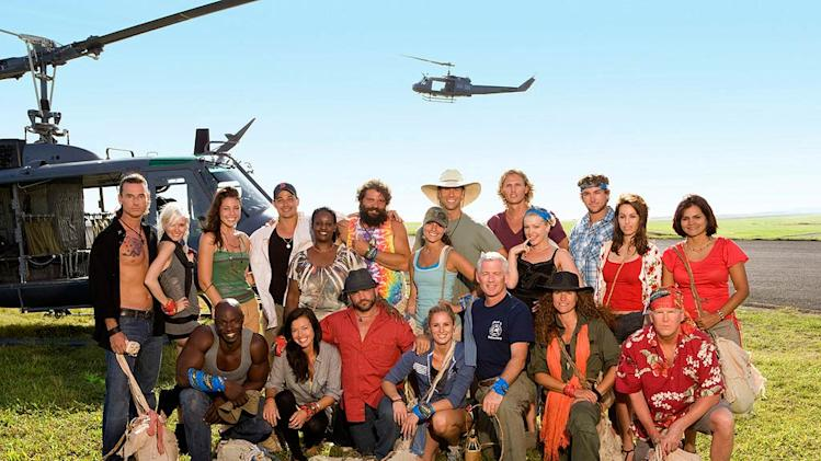 "The cast of ""Survivor: Heroes vs. Villains."""