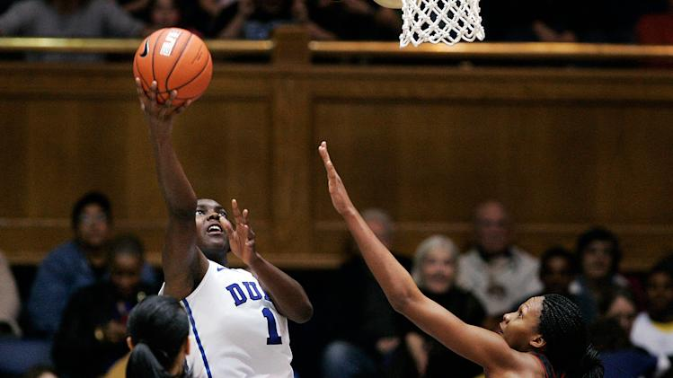 NCAA Womens Basketball: Maryland at Duke