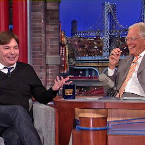 """Mike Myers Talks Shep Gordon and """"Supermensch"""" with David Letterman"""