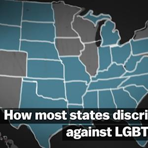 How most states discriminate against LGBT people