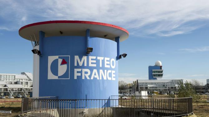 A view shows the Meteo-France Toulouse site, called Meteopole, outside the city of Toulouse