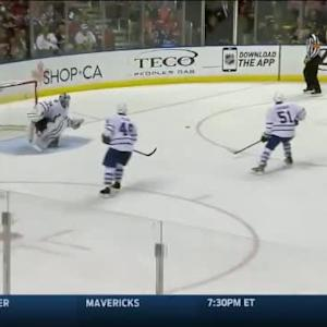 Roberto Luongo Save on Jake Gardiner (11:16/3rd)