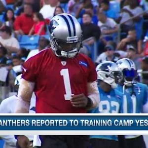 Carolina Panthers QB Cam Newton: 'Not 100 percent yet'
