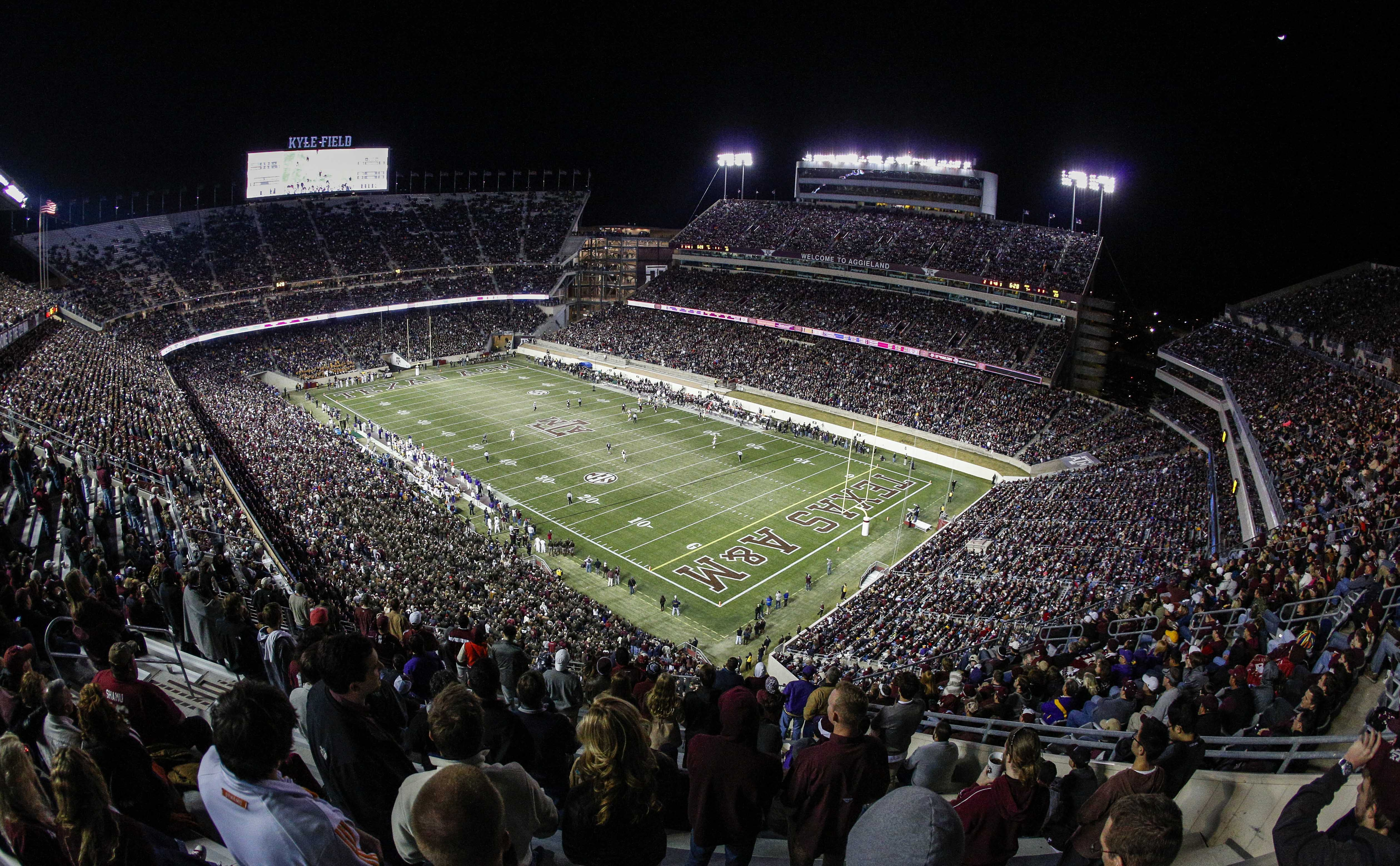 West side of Texas A&M's Kyle Field will implode on Sunday