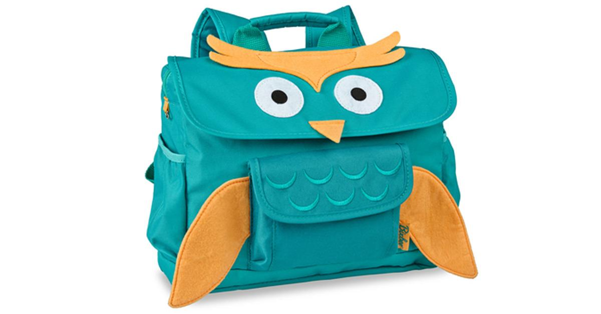 Pre-K Adorable 'Owl' Backpacks, Now Only $32