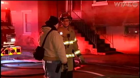 Space heater blamed for North Side apartment building fire