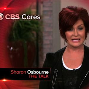 CBS Cares - Sharon Osbourne on Heart Disease