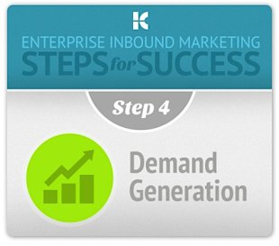 Enterprise Inbound Marketing Process: Demand Generation image demand generation step 4