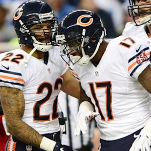 Chicago Bears wide receiver Alshon Jeffery scores second touchdown