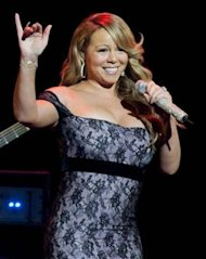 "Mariah Carey como jueza en ""American Idol"" via WireImage"