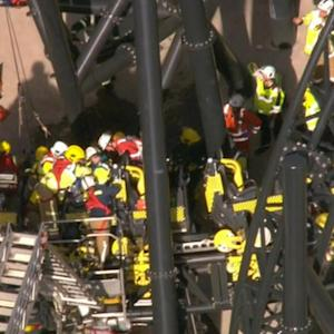 Roller coaster collision leaves four injured