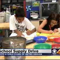 Boys & Girls Clubs Need School Supplies