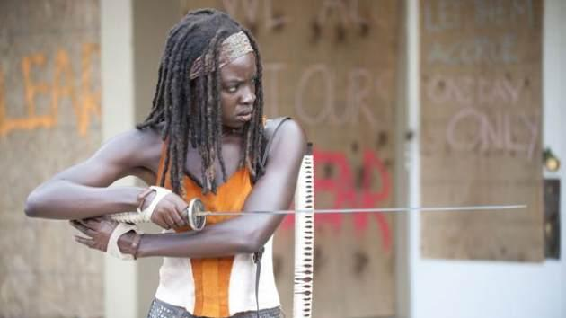Danai Gurira as Michonee in Season 3 of 'The Walking Dead' -- AMC