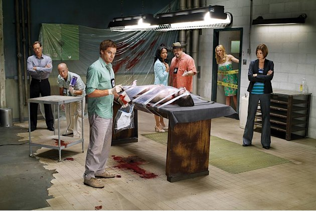 The cast of &quot;Dexter.&quot; 