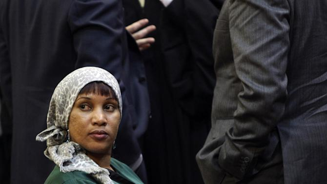 "Nafissatou Diallo, a hotel housekeeper who alleged that she was sexual assaulted by former International Monetary Fund leader Dominique Strauss-Kahn, appears in court in New York, Monday, Dec. 10, 2012. State Supreme Court Justice Douglas McKeon announced that after lengthy negotiations, the parties ""came together and put terms of a settlement on the record."" The amount of the settlement was kept confidential. The lawsuit stemmed from a May 2011 hotel suite encounter that also spurred criminal charges, forced Strauss-Kahn's resignation from the IMF and cut off his potential candidacy for the French presidency. (AP Photo/Seth Wenig, Pool)"