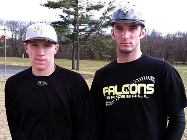 Burlington Township seniors Ryan Bell and David Viselli — Philadelphia Inquirer