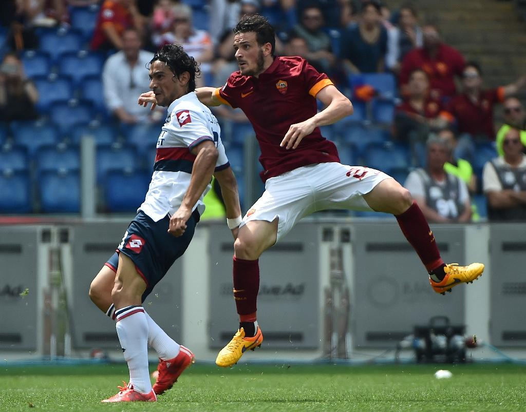 Doumbia helps Roma go second with win over Genoa