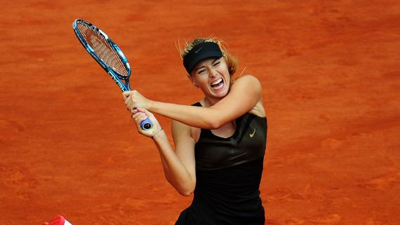 Maria Sharapova Of Russia Plays Getty Images