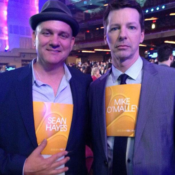 Mike O'Malley and Sean Hayes