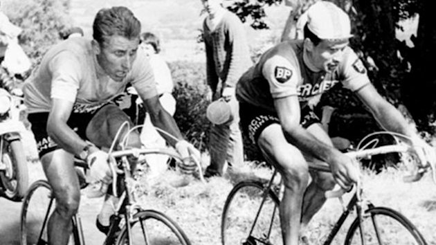 CYCLING 1964 Tour de France Anquetil Poulidor