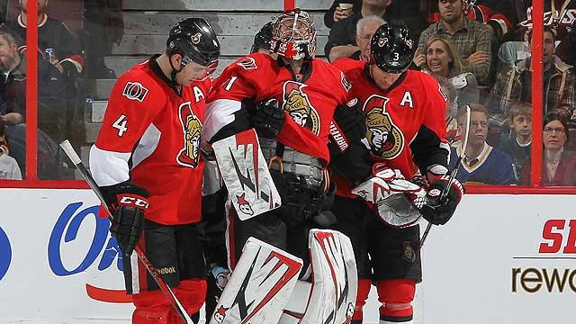 Senators' playoff hopes in danger?