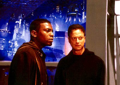 Mekhi Phifer and Gary Sinise in Dimension's Impostor