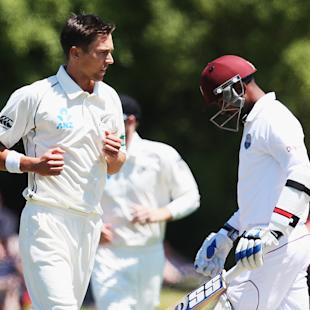 1st Test: Windies fight to stave off innings defeat