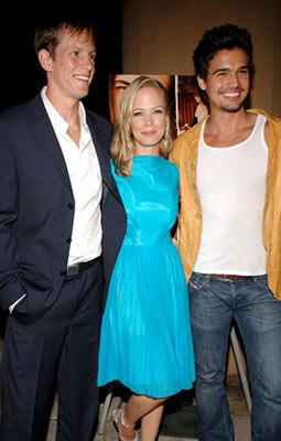 Kip Pardue , Pell James and Steven Strait at the Hollywood premiere of Lions Gate Films' Undiscovered