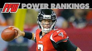 Power rankings: Falcons leave no doubt at No. 1