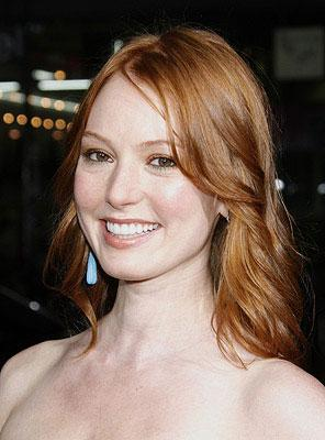 Alicia Witt at the Los Angeles premiere of Universal Pictures' Forgetting Sarah Marshall